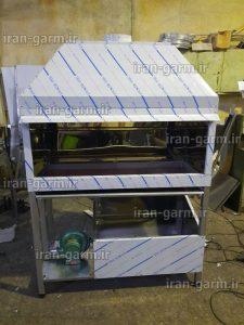 کباب پز ذغالی صنعتی با فن